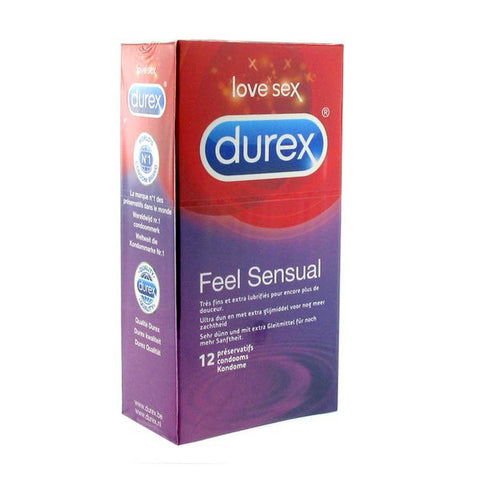 Feel Sensual Condoms 12 pcs Durex E20298