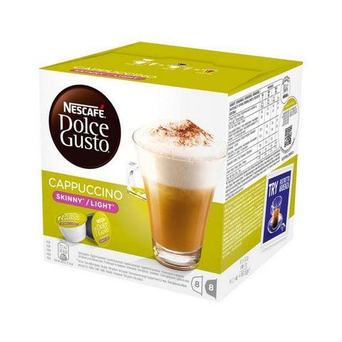Coffee Capsules with Case Nescafé Dolce Gusto 87377 Cappuccino Light (16 uds)