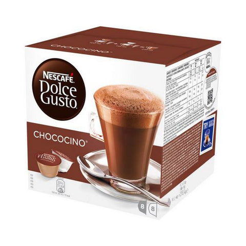 Coffee Capsules with Case Nescafé Dolce Gusto 12045470 (16 uds) Chococino