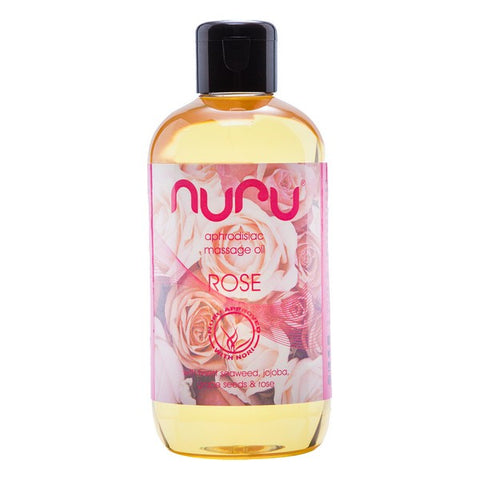 Erotic Massage Oil Rose Nuru (250 ml)