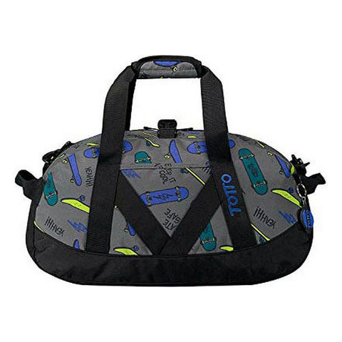 Sports bag Skate Totto Grey (25 X  47 x 19 cm)