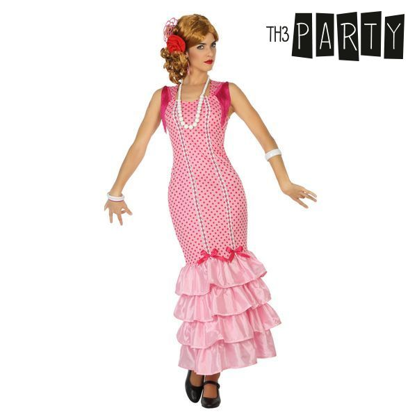 Costume for Adults Flamenco dancer Pink