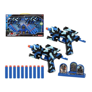 Dart Gun Swat Equipment Blue (2 Uds) 111483