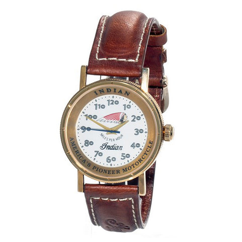 Unisex Watch The Indian Face ID-IRON-REDSKIN-B01 (Ø 36 mm)