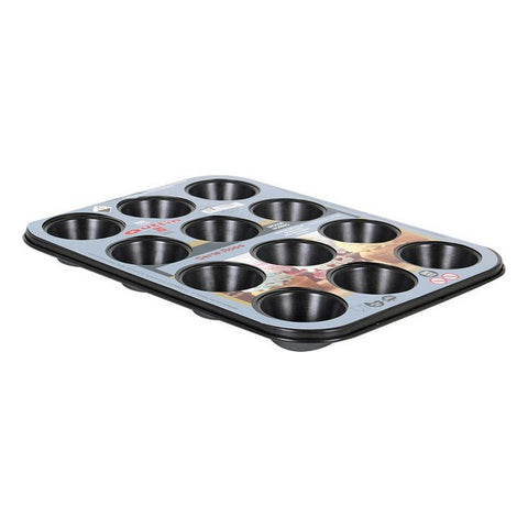 Muffin Tray Quttin Ross (12 Servings) (35 X 26,5 x 3 cm)