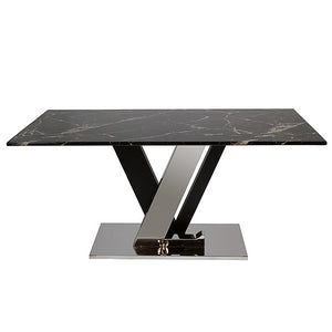 Dining Table Marble (160 X 90 x 76 cm)