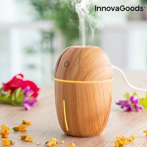 Mini Humidifier Scent Diffuser Honey Pine InnovaGoods