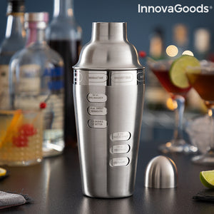 Cocktail Shaker with Integrated Recipes Maxer InnovaGoods