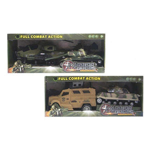 Set of 2 Vehicles Camouflage (48 x 20 x 14 cm)