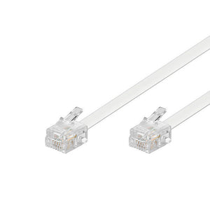 Telephone Cable Connection EDC RJ-11 2 m White