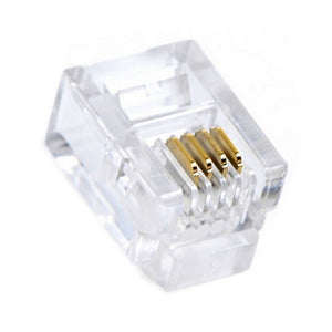 RJ11 Connector GEMBIRD MP-6P4C/100 6P4C (100 pcs)