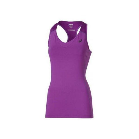 Tank Top Women Asics Racerback Tank Purple