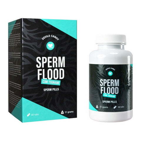 Sperm Flood Tablets for Improving Sperm Quality Devils Candy