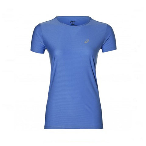 Women's Short Sleeve T-Shirt Asics SS TOP Blue