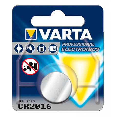 Lithium Button Cell Battery Varta 220841 3 V Silver