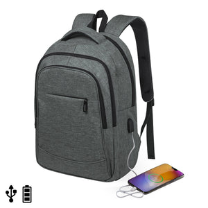 Rucksack for Laptop and Tablet with USB Output 146455