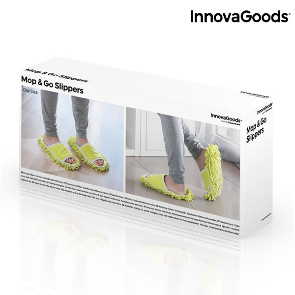 InnovaGoods Mop & Go Slippers