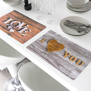 Romantic Love Placemats