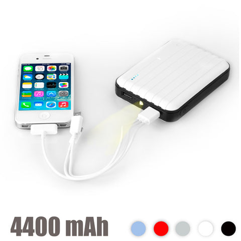 Power Bank with LED 4400 mAh