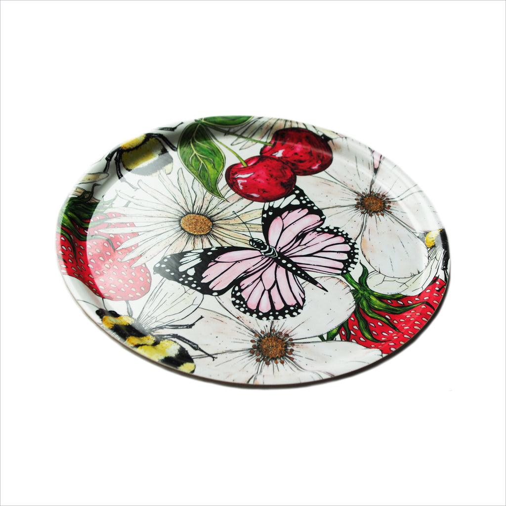 Blossom Serving Tray, Small