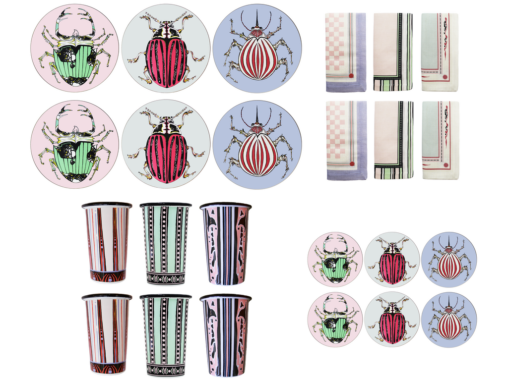 PRE ORDER The Mixed Beetle Table Set