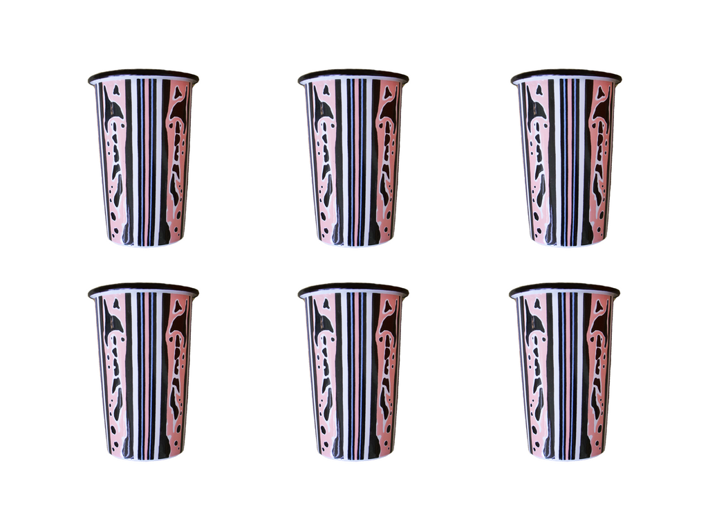 The Ophelia Set of 6 Tumblers