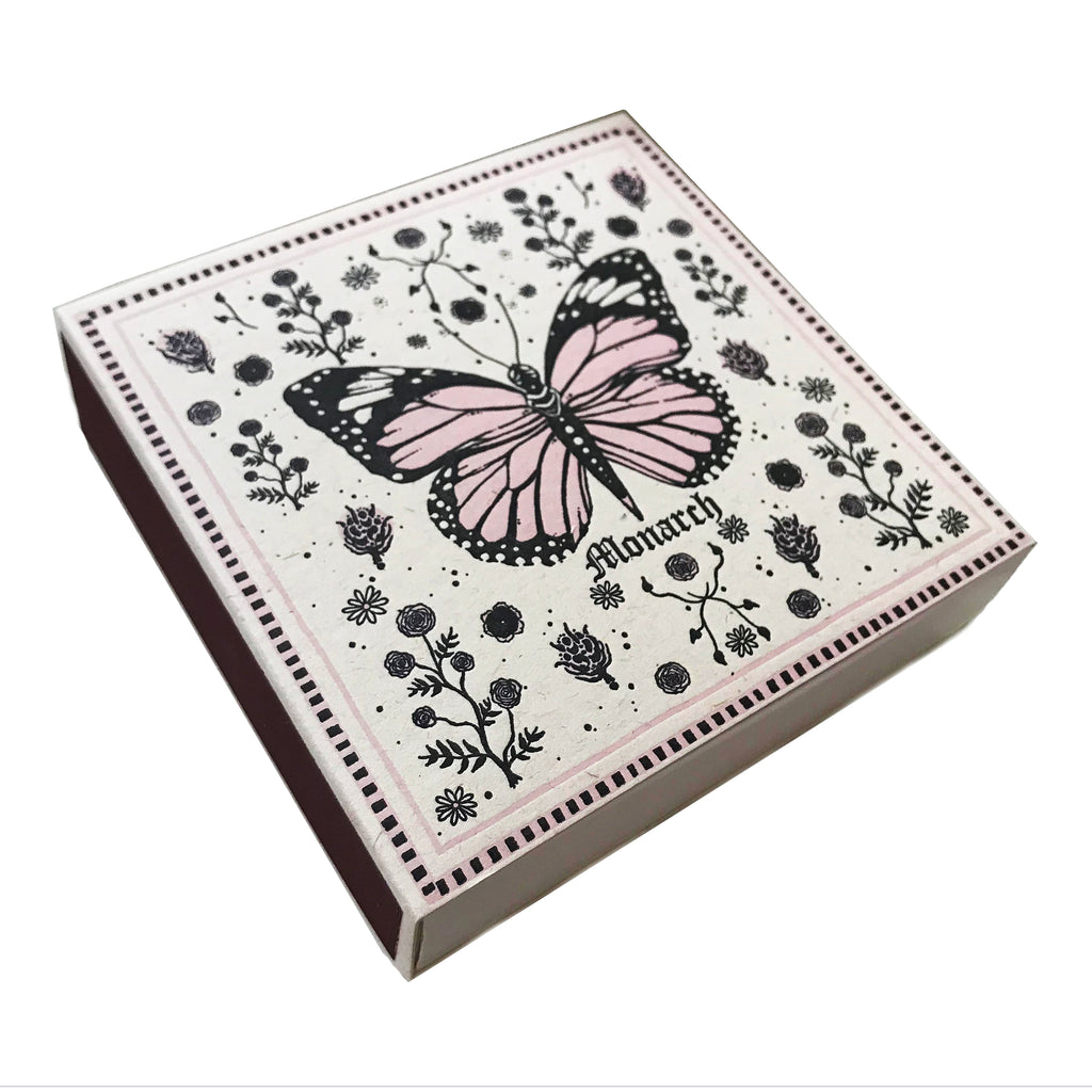 Monarch Butterfly Matchbox