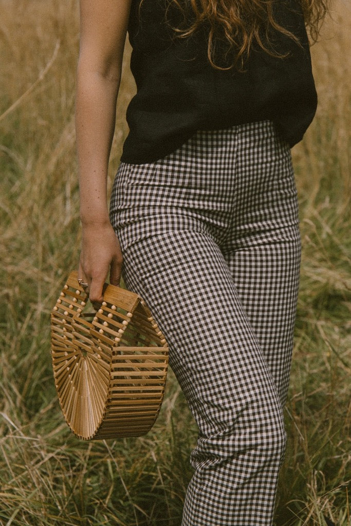 Oscar Pant - Brown Gingham