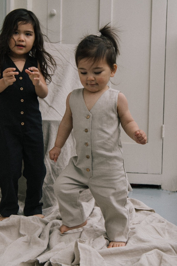 Mini Jumpsuit - Oatmeal