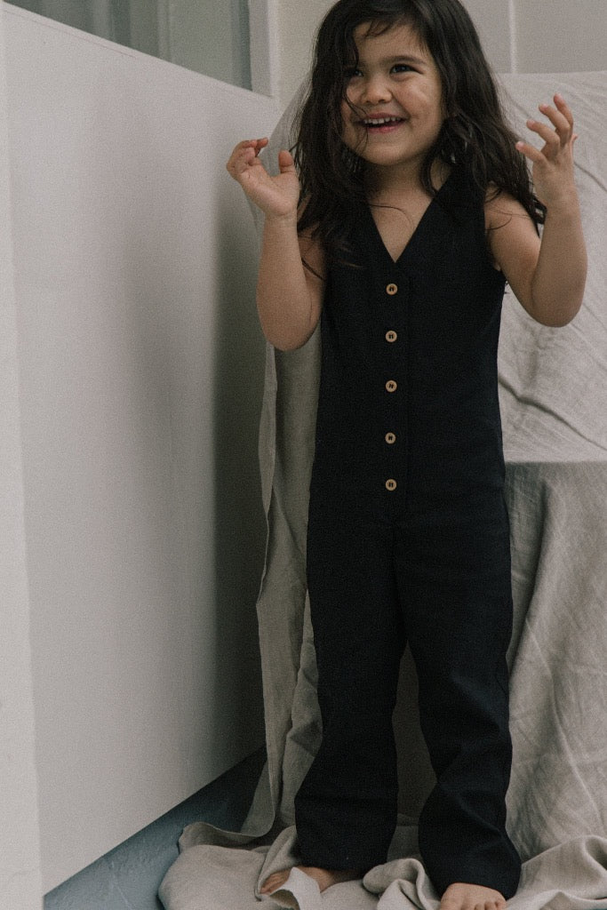 Mini Jumpsuit - Black