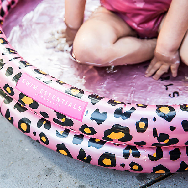 Swim Essentials Baby Panther Druck rosa gold Pool