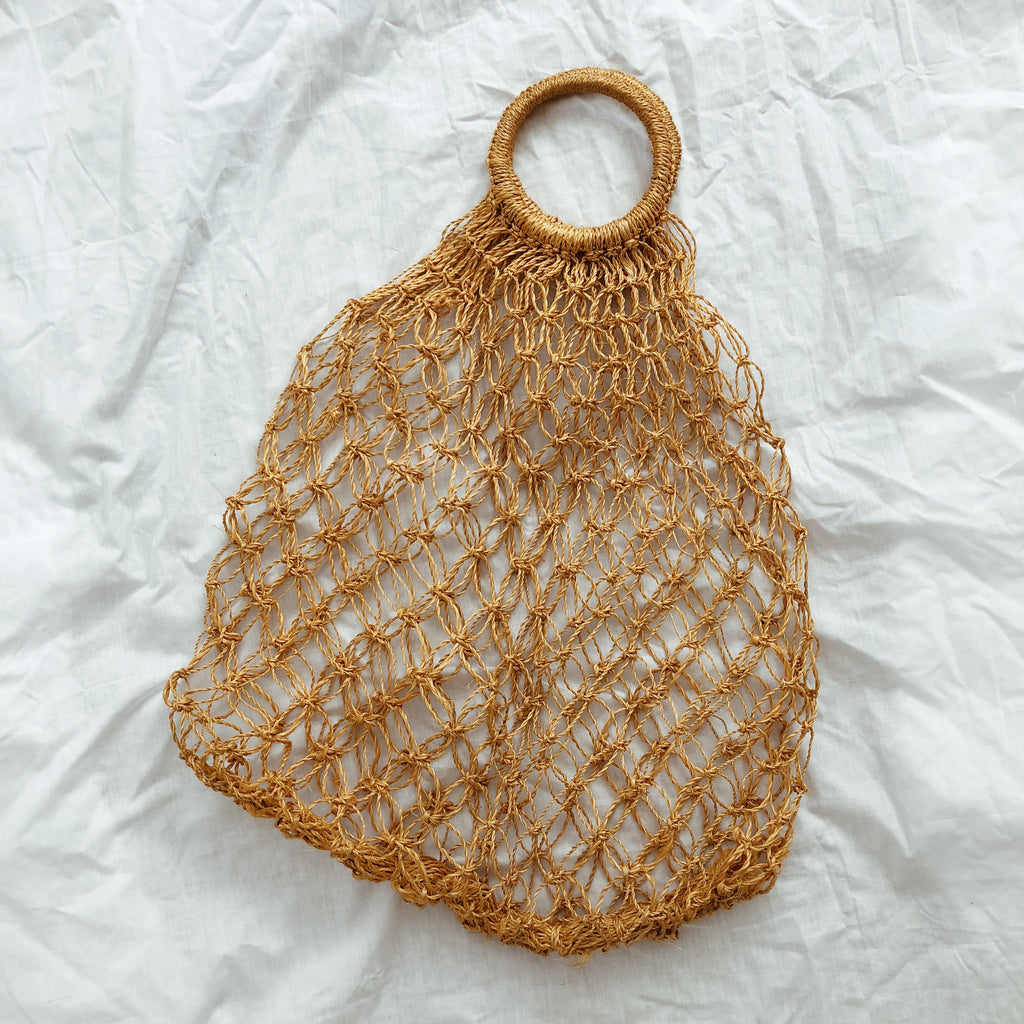 Take Me Away Netted Bag