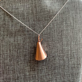 Lily Copper Pendant