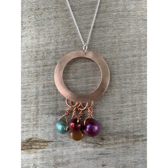 Incognito Brushed Copper Pendant