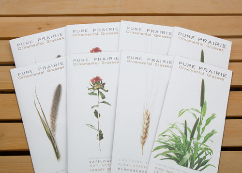 Pure Prairie Ornamental Grasses - Package of 8