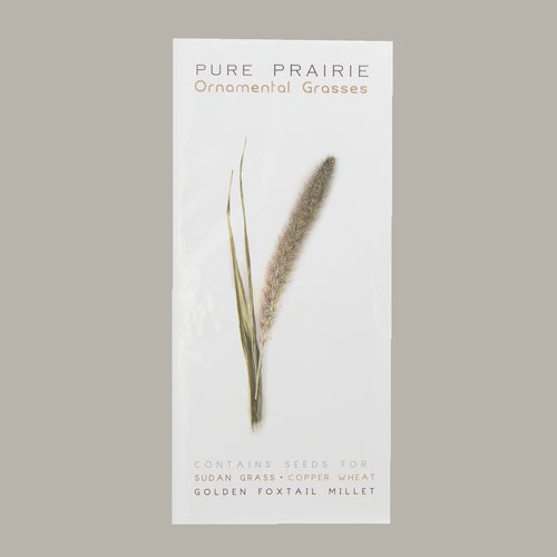 Pure Prairie Ornamental Grasses - Sudan Grass, Wheat, Foxtail Millet