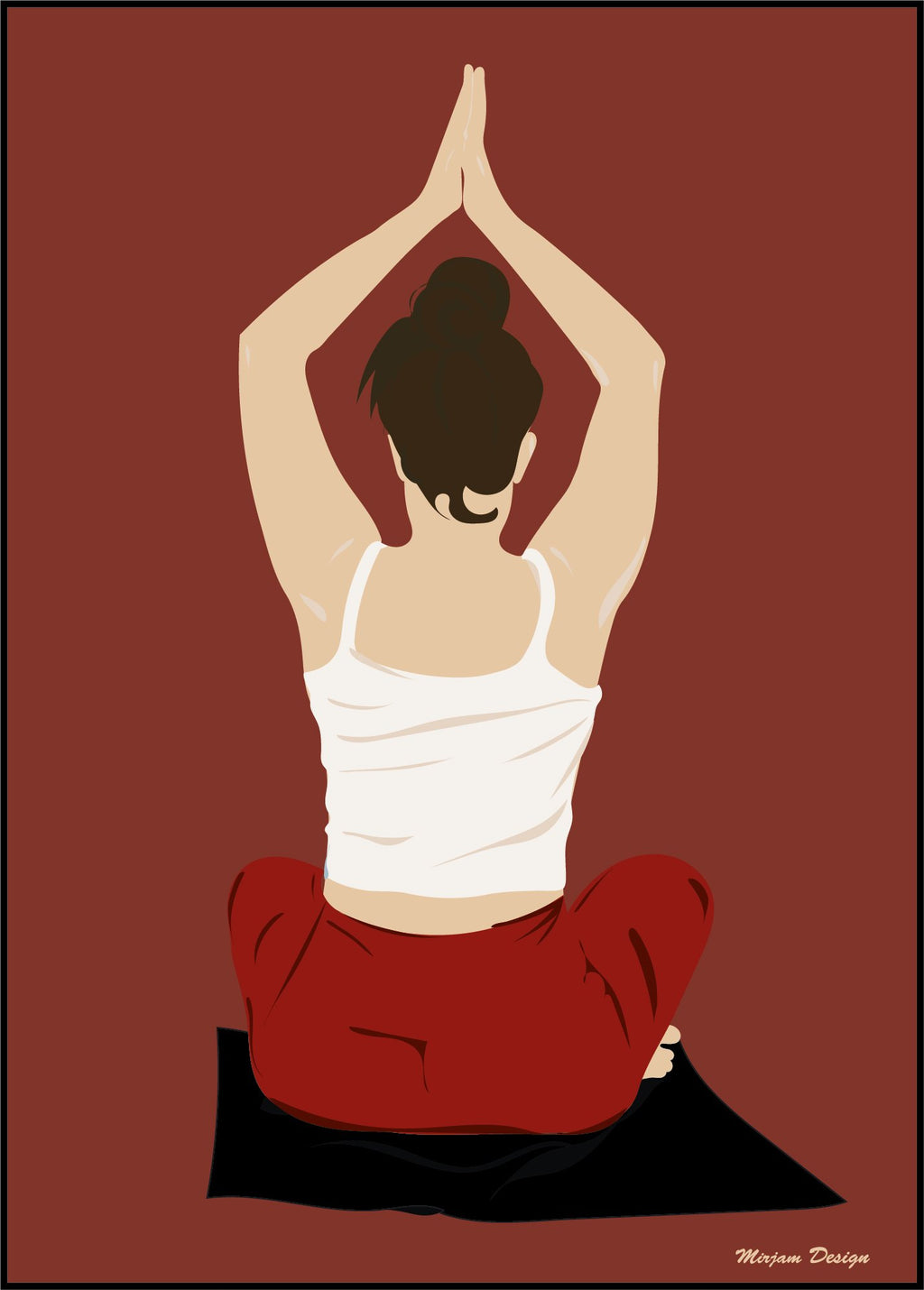Prayer_yoga_tavlor_posters