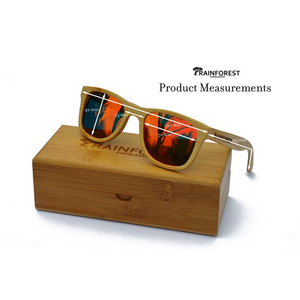 DARMATI Eyewear : DARMATI Eyewear: ALPINE FIRE - BAMBOO SUNGLASSES - Men - Accessories - Sunglasses Bamboojee