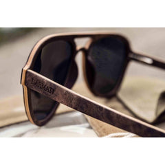 DARMATI Eyewear : CORSAIR - DESIGNER WOOD SUNGLASSES - Men - Accessories - Sunglasses Bamboojee