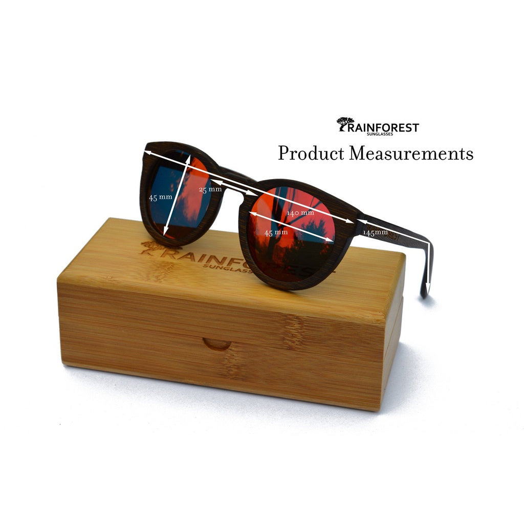 DARMATI Eyewear : DARMATI Eyewear: UNDERSTORY FIRE - BAMBOO SUNGLASSES - Women - Accessories - Sunglasses Bamboojee
