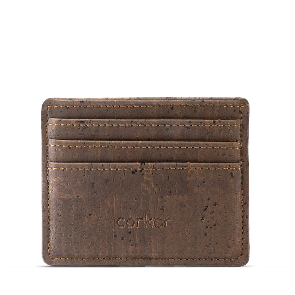 corkor - cork vegan leather wallet