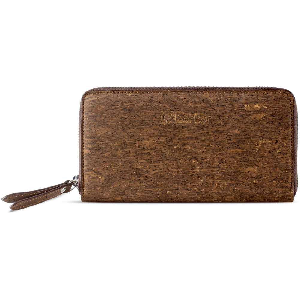 CORK WALLET with Zip