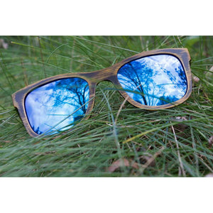 DARMATI Eyewear : DARMATI Eyewear: DRIFTWOOD ICE - BAMBOO SUNGLASSES - Men - Accessories - Sunglasses Bamboojee