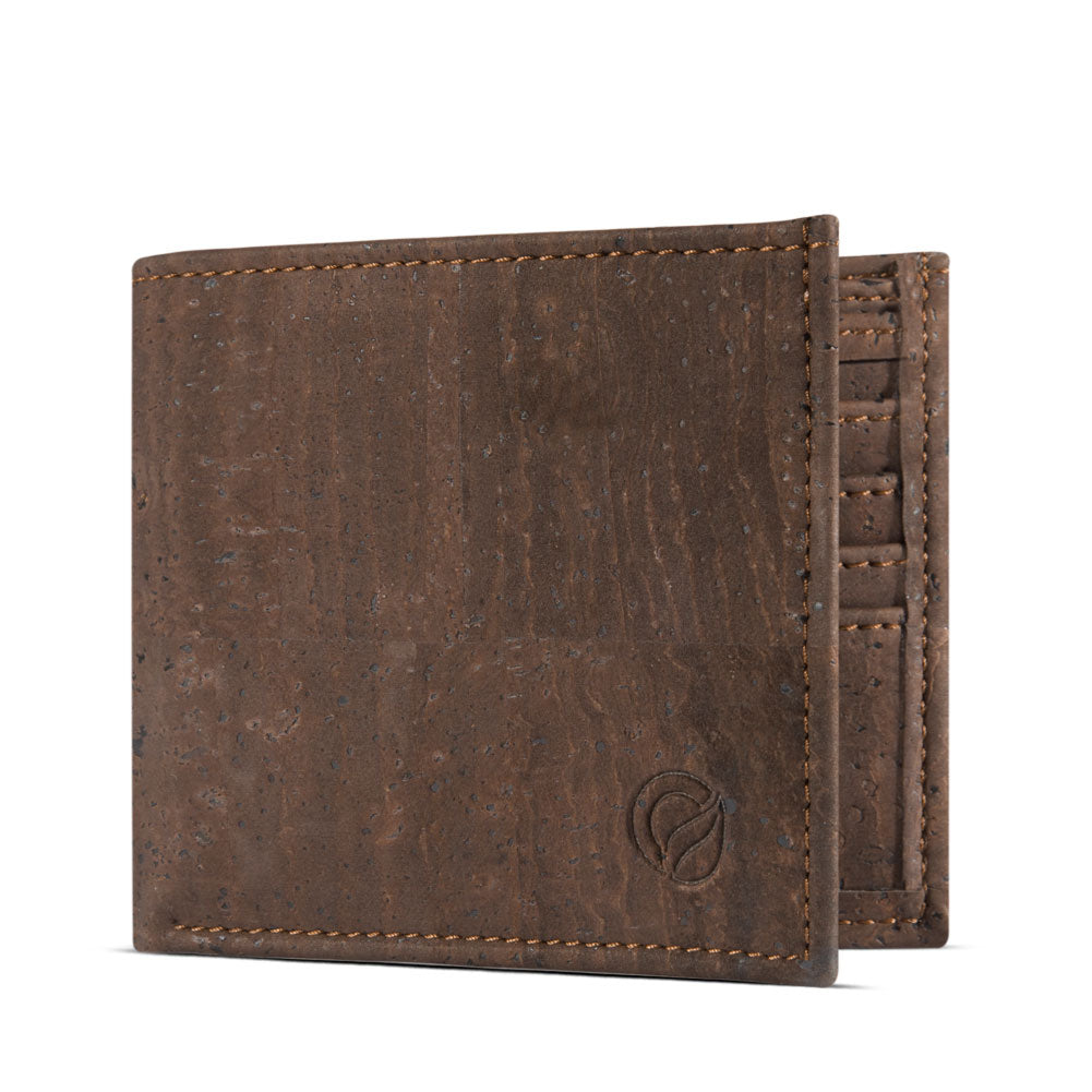 VEGAN WALLET - BROWN