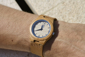 Small Vintage Bamboo Watch - by Swole Panda