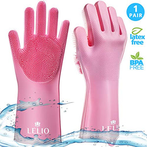 SUPER SCRUBBER GLOVES PAIR