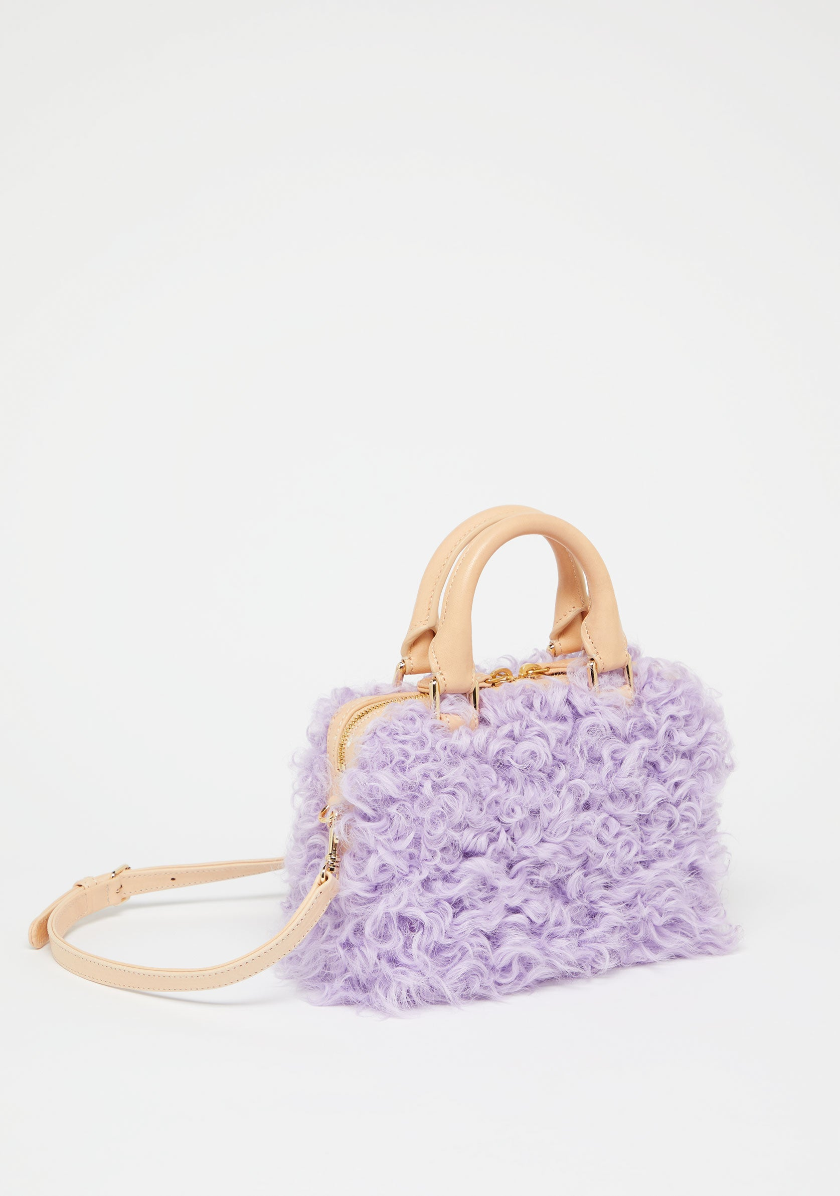 MINI ISLAND SHEARLING HANDBAG