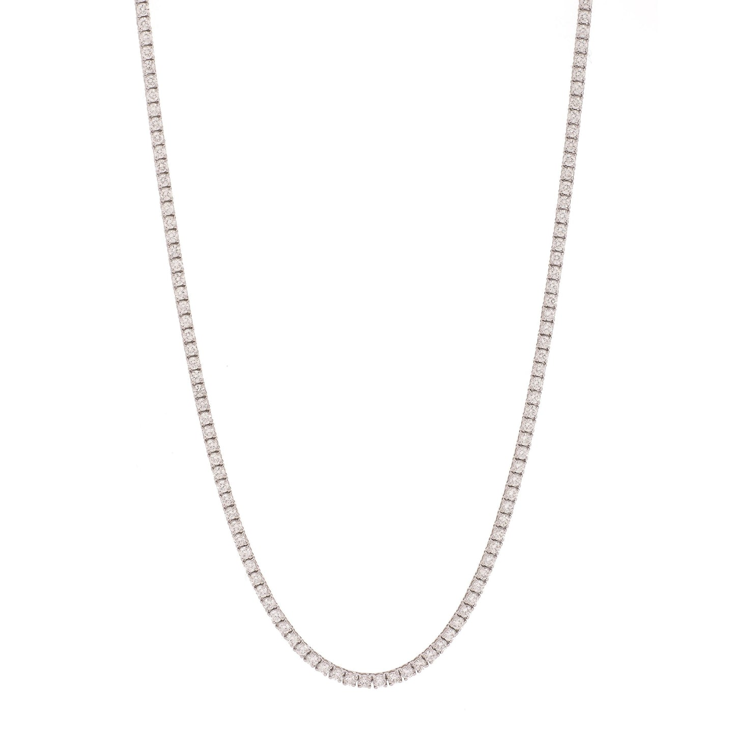 Essential Diamond Line Necklace (7.7 tcw) - Best & Co.