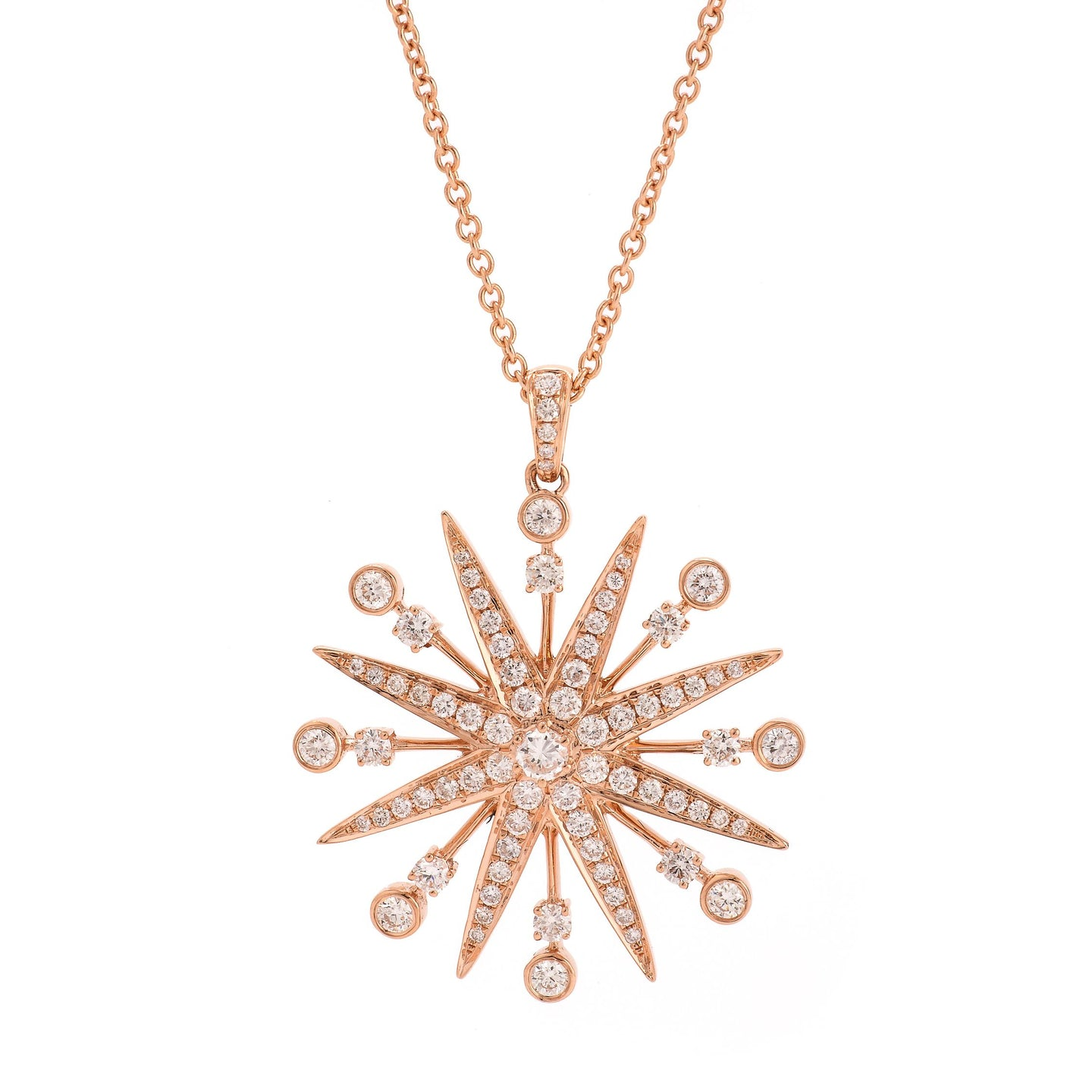 Starburst Pendant Necklace - Best & Co.