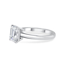 1.5 Carat Emerald Cut Engagement Ring